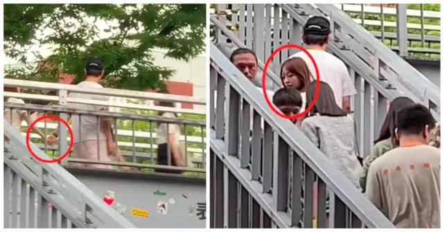 王思聪十一假期带新女友看大熊猫,两人手牵手,不避讳旁人目光
