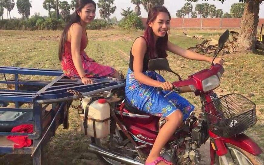柬埔寨这么穷,却看不到一个乞丐?看了当地农村生活你就明白了!