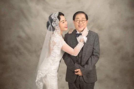 又一对爷孙恋修成正果!29岁女星嫁71岁豪商,新婚3月产下一子