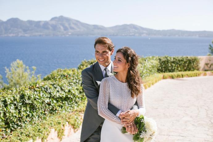 纳达尔婚纱照曝光,新娘超美!