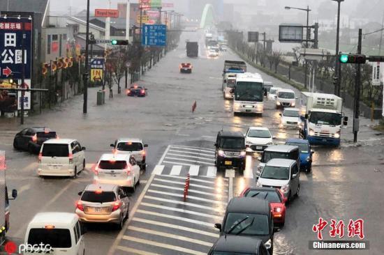 台风再袭日本引发暴雨 千叶福岛两县已有10人遇难