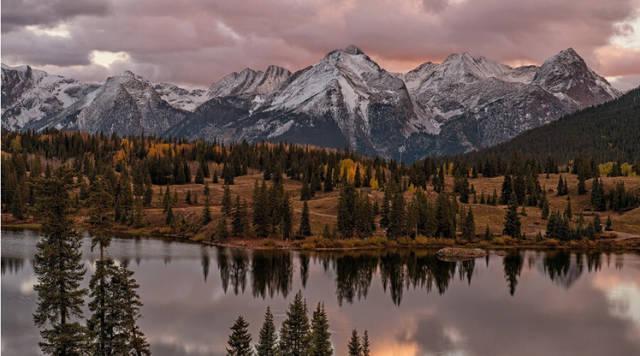 风光摄影,6个山水风景图片摄影构图技巧