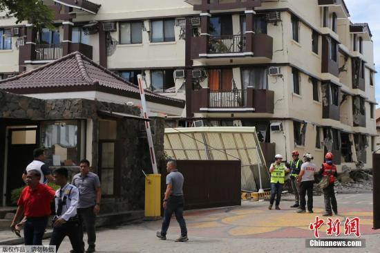 菲律宾再发生6.5级强震 菲总统房屋出现裂缝