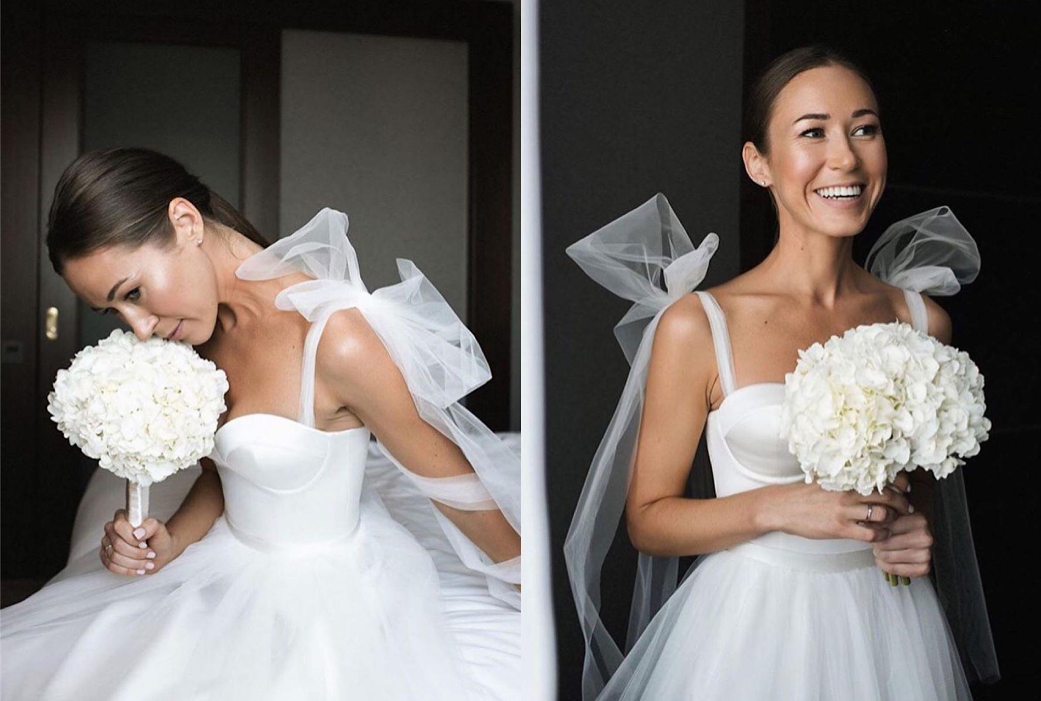 Berta高定婚纱礼服,浪漫蕾丝花卉,爱情的灵动气息