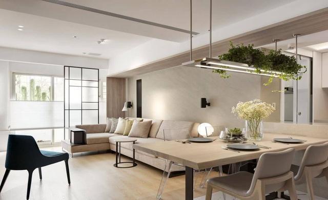 100平现代简约两居室,时尚潮流的设计尽显摩登风范