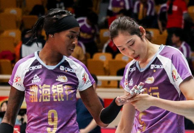 天津女排陣容豪華,防守有獨到之處,與國家隊打一場如何?