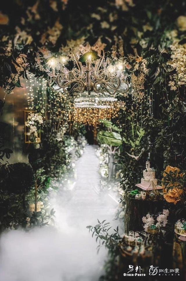 DODOWED婚礼案例推荐系列之JIN生JIN世婚礼定制森系婚礼案例