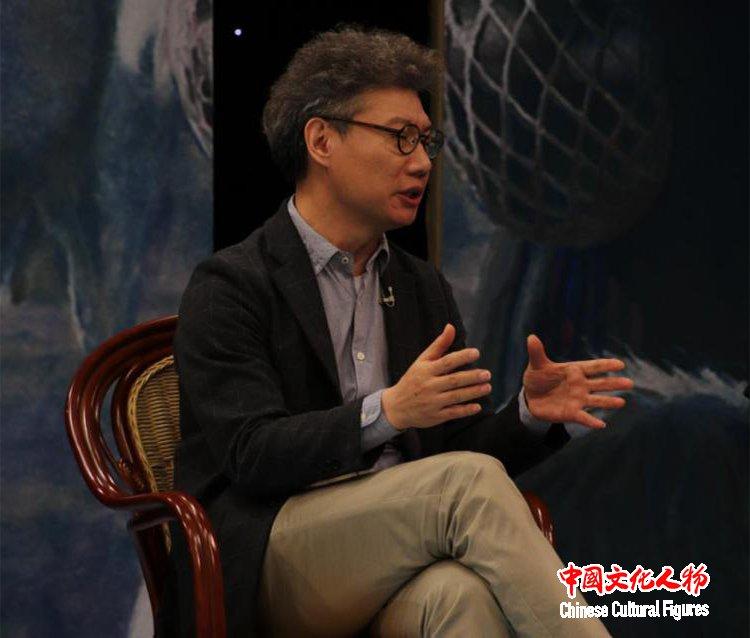 韩玉臣与杨飞云 张晓凌 尚辉等专家在央视研讨世界艺术新风向