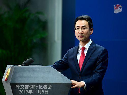 外交部發言人耿爽。圖片來源:外交部網站。