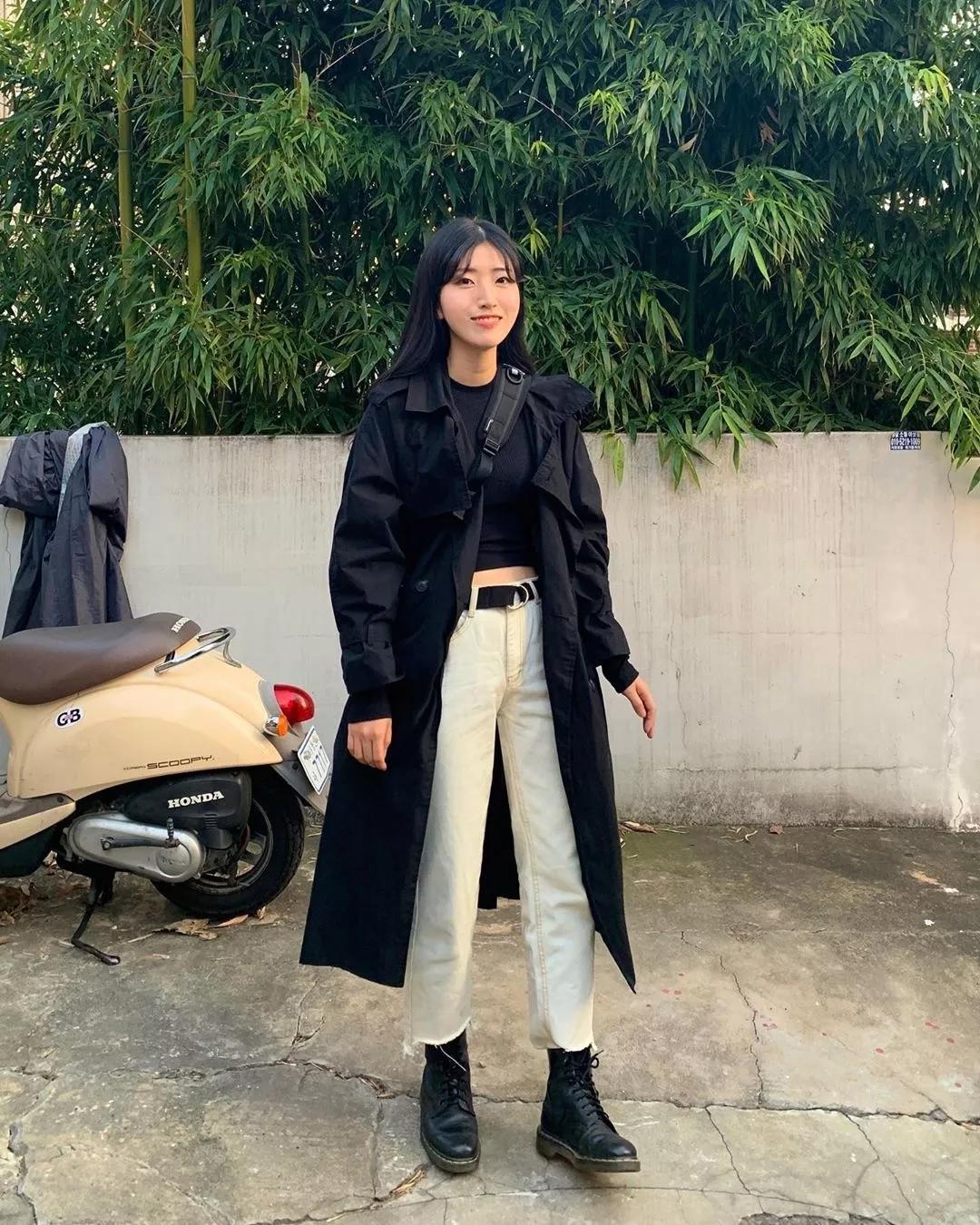 外套+马丁靴,冬日最酷搭配!