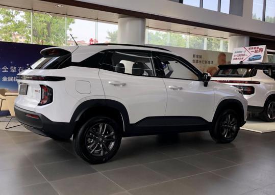 SUV界新秀,双色车身,全身智能科技,顶配才到9万