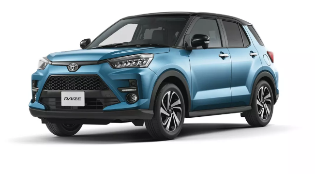 丰田全新小型SUV采用RAV4外观设计,命名RAIZE