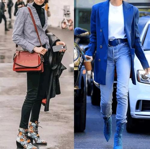 丹比奴鞋履潮流|今冬流行的系带靴时髦炸了,谁穿谁被夸!