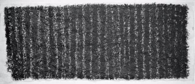 写一个字蘸多次墨,算不算书法?