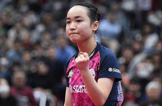 日乒名將橫掃自己的隊友,強勢晉級四強,即將與世界第一會師次輪