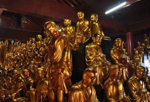 九华山唯一肉身女佛像,圆寂5年后肤色与常人无异,至今都没腐烂