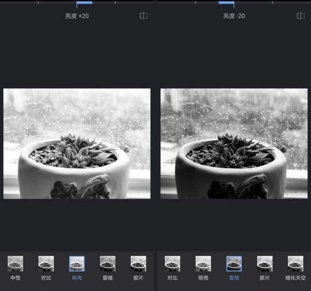 手机修图软件snapseed里的黑白,简单中带有无穷的摄影知识点