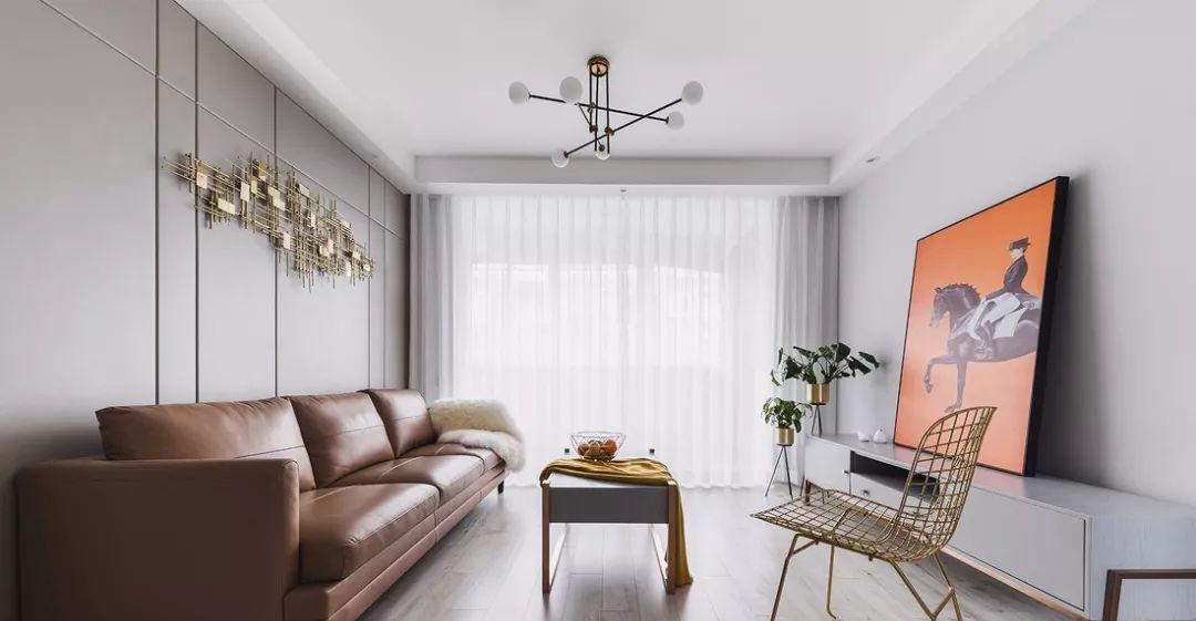 90㎡现代简约风2室2厅,活力与时尚碰撞的品质生活