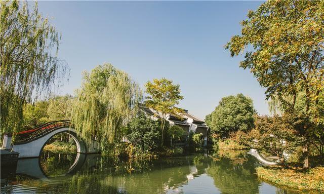 杭州最具江南韵味的酒店,小桥流水亭台楼阁