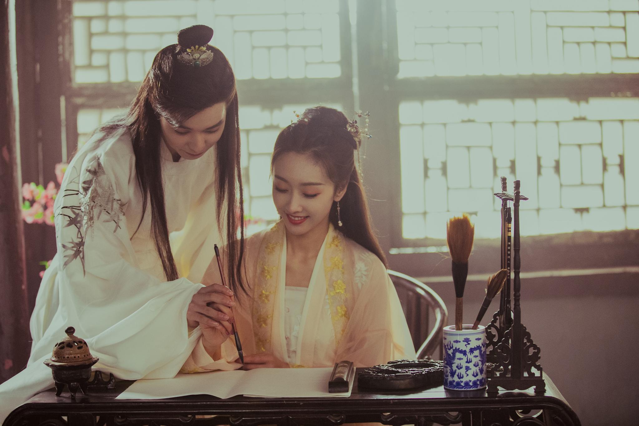 宣璐古装出镜演绎转世情缘 新歌MV《余生漫漫》陪你过冬