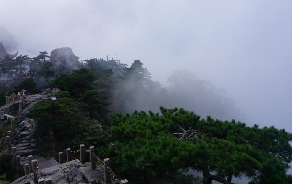 美丽的九华山风景摄影