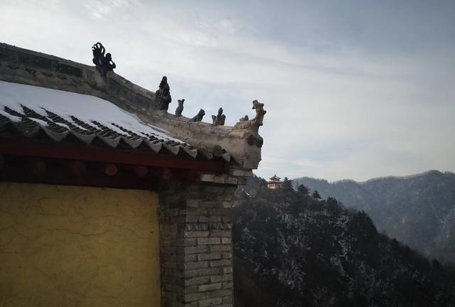 周末攀登秦岭九华山