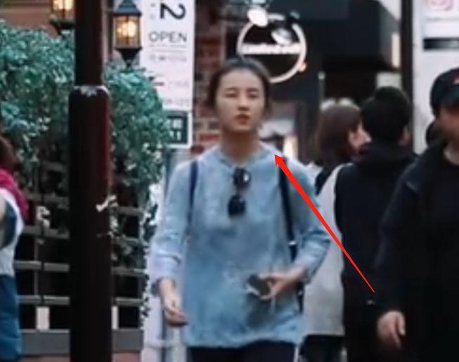 张子枫现身《潮流合伙人》