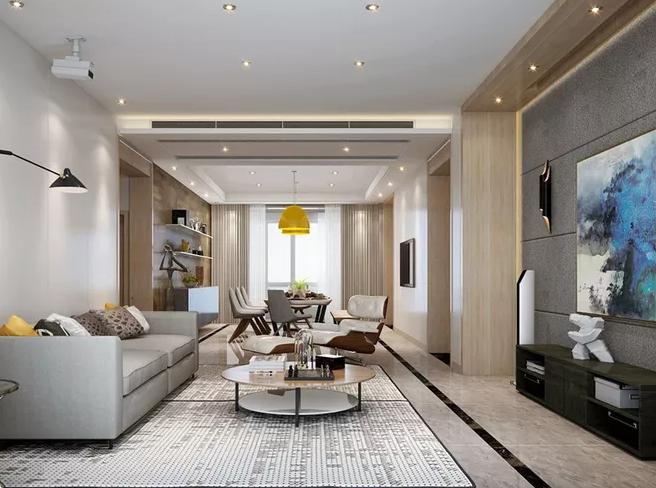 客厅怎样装修显得高端大气,软装也能给你加分