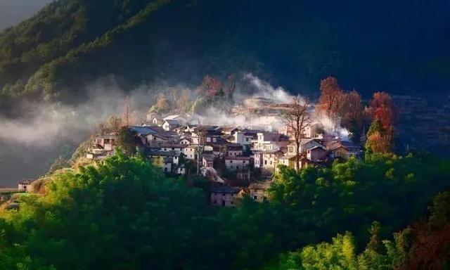 了不起的村落34 浙江省丽水市松阳县四都乡西坑村