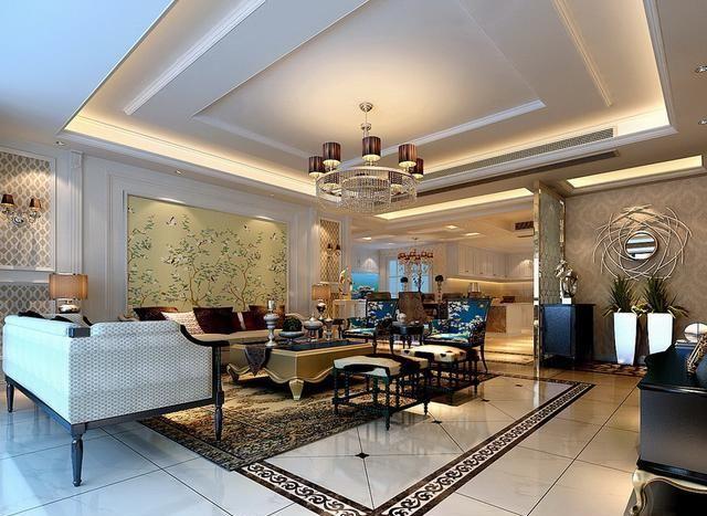 优雅与古典的魅力丨240平新古典装修风格赏析