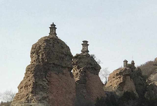 义县之辽代八塔,摄影作品那样,纪实拍这样