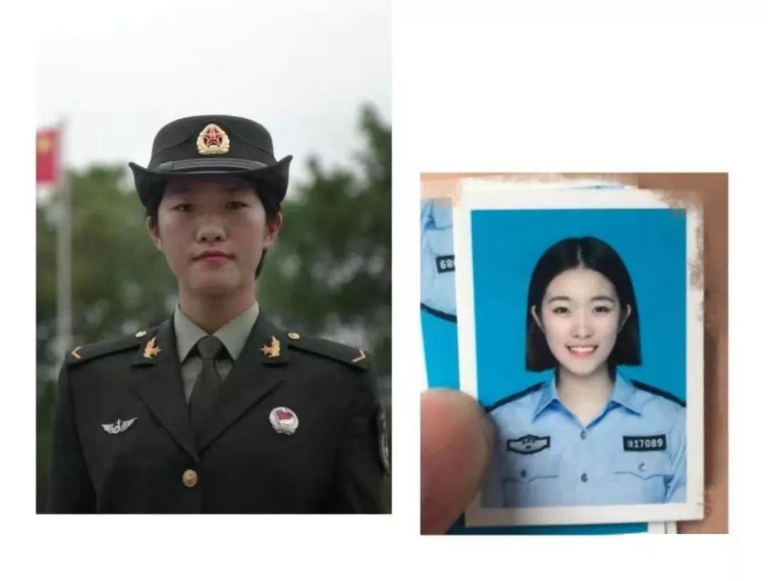 ▲入伍前就读于中央司法警官学院的警花李钰雯