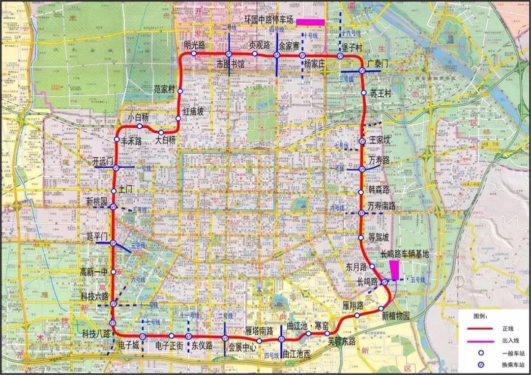 """西安文化潮流新坐标:""""地下2.5环""""站点调整,主城商圈时代"""