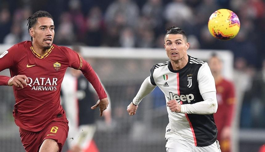 意大利杯-C罗连场破门本坦库尔博努奇建功 尤文3-1罗马晋级
