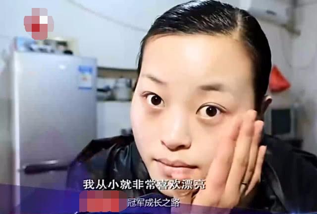 25岁女子首次化妆,上台观众炸了,评委:长相最少90分