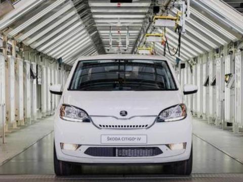 斯柯达Citigo将转型为纯电动车型