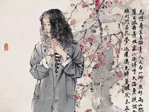 「津门网」何家英绘画作品既融合百家技法又有独具一格的绘画风