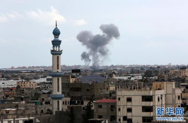 以色列空袭加沙地带_以色列空袭加沙地带杰哈德军事目标|哈德_新浪新闻
