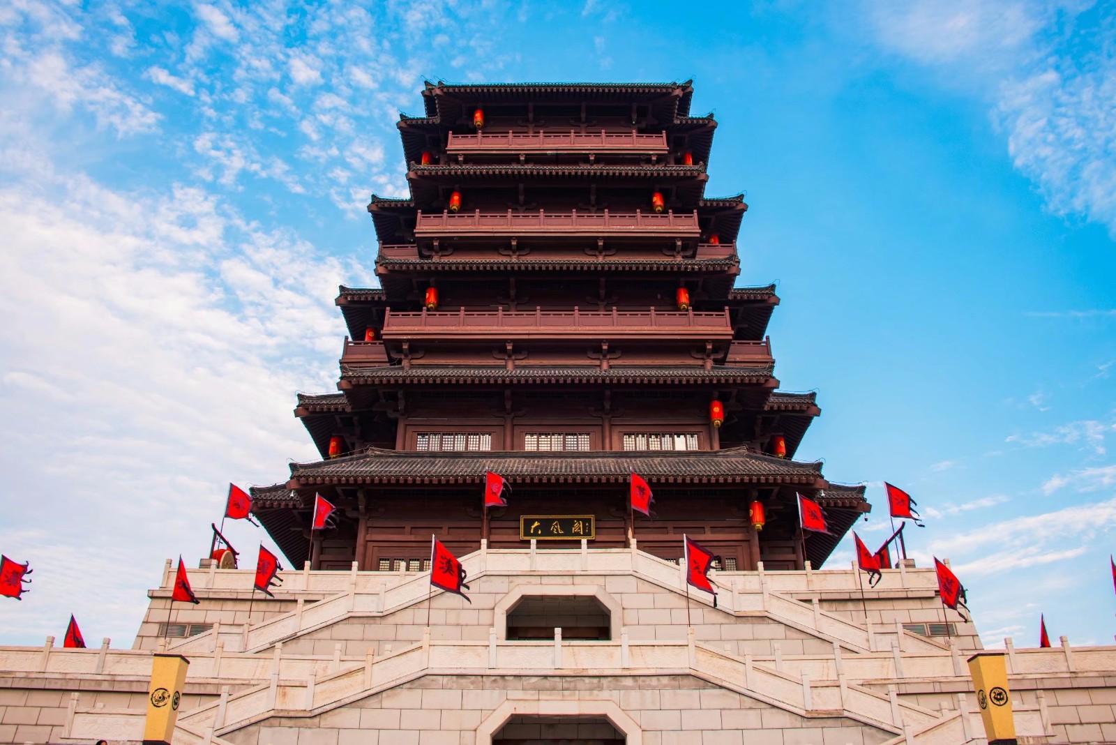 國家級水利風景區—西安漢城湖公園圖片