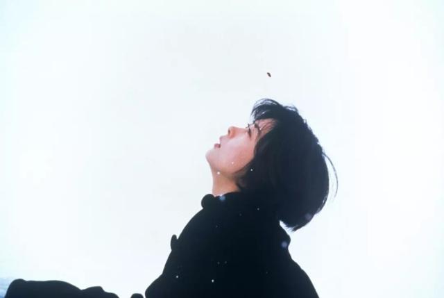 情书电影高清_这是电影《情书》的封面,也是最打动人的一幕.