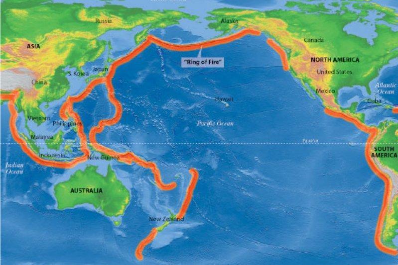 日本地�_令人不安!印尼日本斐济多地地震爆发,环太平洋进入地震活跃期?