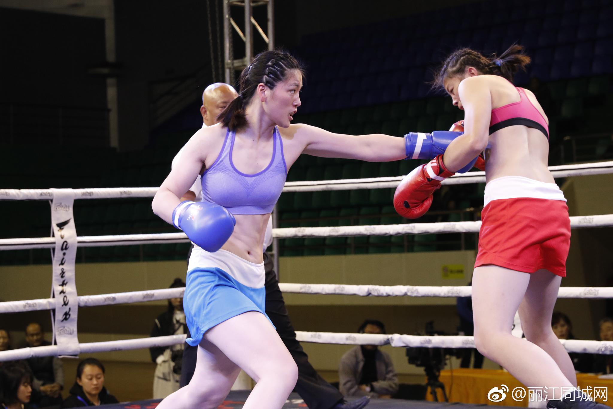 女子被男子kojiao_第二届丽江女子拳击邀请赛收官 纳西姑娘一回合ko对手