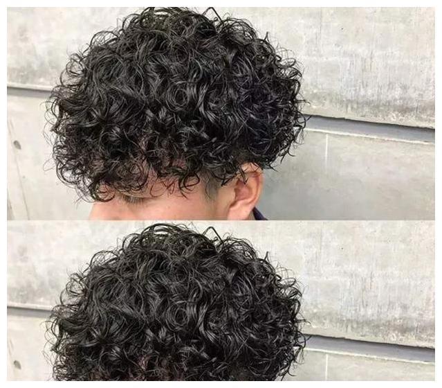 好硬好烫_如果你发量多发质粗硬,肯定选择大卷了,这种发质烫小卷会非常蓬松.