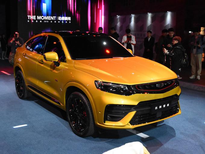 吉利轿跑SUV即将开卖 顶配售17.78万!