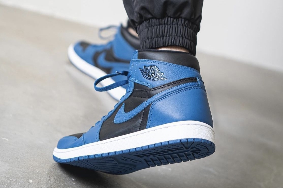 黑蓝 2.0,Air Jordan 1 High「Dark Marina Blue」最新曝光!