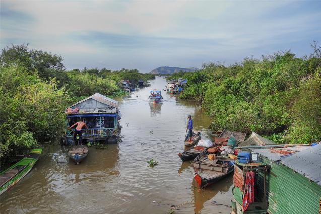 神秘柬埔寨 美丽洞里萨湖