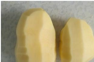 2个土豆,1碗糯米粉,不加一滴水,在家就能做的小糖包,软糯可口