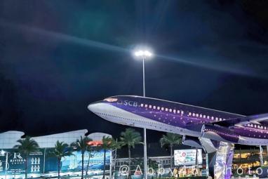 泰国芭提雅最个性的商场,确定不是机场吗?一层一个国家风格