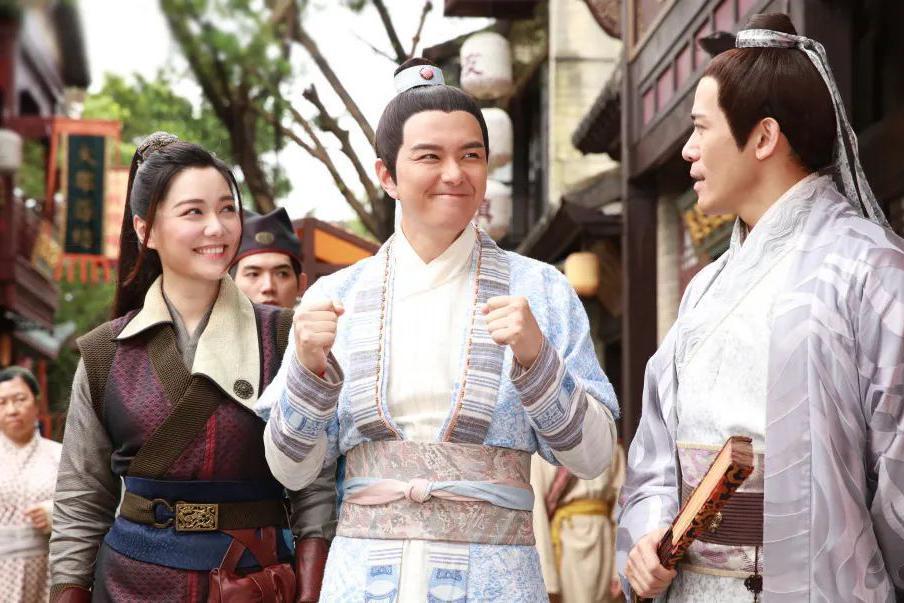 TVB新剧《一笑渡凡间》将播,汤洛雯首当女一,他刚回巢就当男二