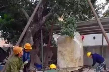 """福建男子用5年将14吨玉石雕成""""东海龙宫"""",专家:价值无法估量"""